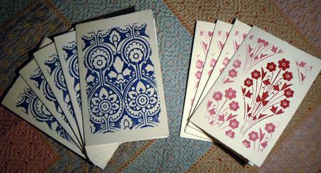 Gocco-xmas-cards