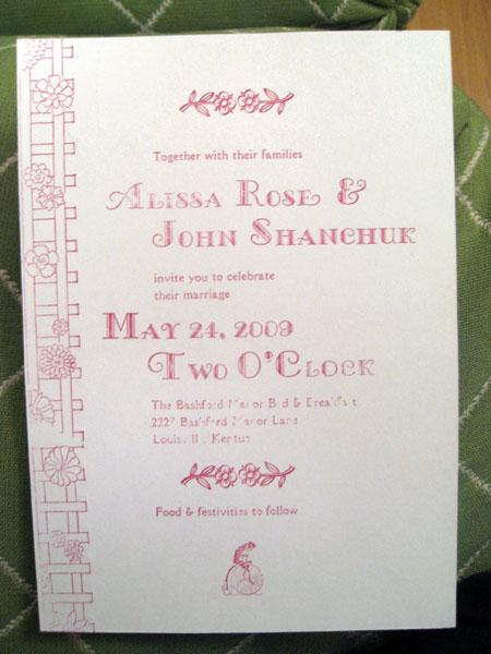 Pink-invite